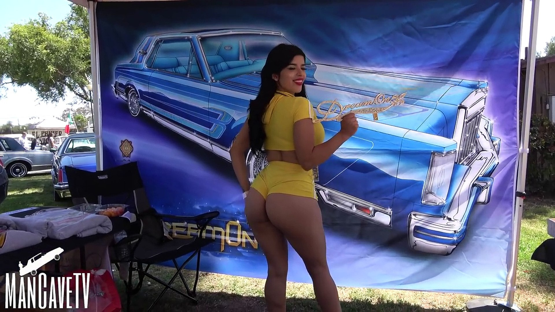 Santa Barbara Lowrider Show Nite Life Car Club