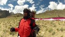Tandem Paragliding Around Rakaposhi (7788m) Paragliding in Pakistan