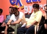 Bollywood stars Amrita Arora  Govinda and Sanjay Dutt in  Ek aur ek gyarah