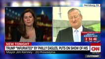 Philly mayor: Trump playing NFL like a fiddle