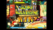 Marvel Super Heroes vs. Street Fighter - Gouki and Wolverine Playthrough