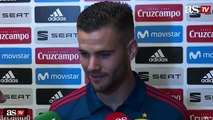 """Nacho: """"Estamos afectados, la figura de Zidane era importante"""""""