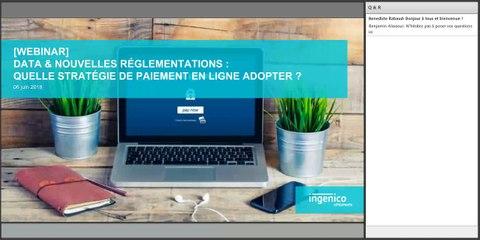 [Webinar] Data & nouvelles réglementations : quelle stratégie de paiement adopter - Ingenico