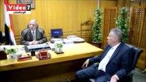 محافظ الإسماعيلية يستقبل وكيل وزارة الموارد المائية والري لمحافظات القناة