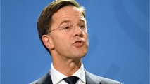 Internet Loves Dutch Prime Minister Cleaning Coffee Spill