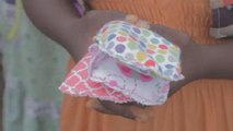 Cameroonian teacher makes re-usable pads to help girls stay in school [No Comment]