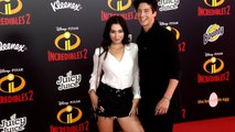 "Milo Manheim and Holiday Kriegel ""Incredibles 2"" Premiere Red Carpet"