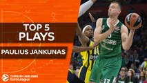 Top 5 plays, Paulius Jankunas, All-EuroLeague Second Team