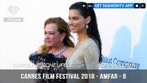 Adriana Lima and Martha Hunt on the amfAR Gala at Cannes Film Festival 2018   FashionTV   FTV