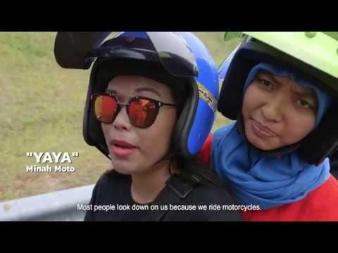 Women motorbike riders of Malaysia | HIJAB RIDERS | COCONUTS TV ON IFLIX