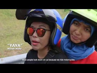 Women motorbike riders of Malaysia | HIJAB RIDERS | COCONUTS TV ON IFLIX