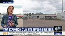 Trois blessés dans l'explosion d'un site Seveso