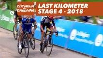 Last kilometer - Étape 4 / Stage 4 (Chazey-sur-Ain / Lans-en-Vercors) - Critérium du Dauphiné 2018