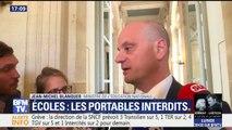 Interdiction des portables à l'école: Jean-Michel Blanquer veut notamment protéger les enfants contre l'addiction aux écrans
