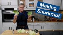 How To Make A Basic Sauerkraut    Le Gourmet TV Recipes