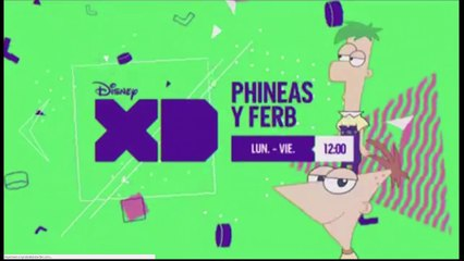 """PROMO """"TODO PHINEAS Y FERB"""" (JUNIO 2018) EN DISNEY XD"""