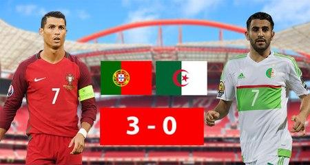 Amical : Résumé du match Portugal 3-0 Algérie