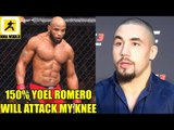 Yoel Romero will be going for Robert Whittaker's surgically repaired knee again?,Usman,Bisping