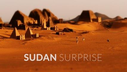 Sudan Surprise (4k - Aerial - Time Lapse - Tilt Shift)
