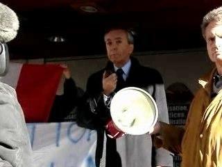 Manif. contre la mosquée de Marseille