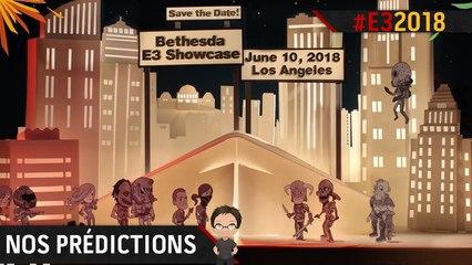 E3 2018 : Que peut-on attendre de la conférence Bethesda ?