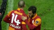 Wesley Sneijder'in Galatasaray Formasıyla Oynadığı İlk Maç, Attığı İlk Gol ve Attığı Son Gol