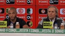 Conférence de presse de Madjer et Brahimi après le Portugal
