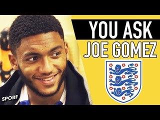 FERDINAND IS MY HERO | JOE GOMEZ | YOU ASK | SPORF