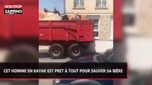 Un propriétaire excédé déverse les déchets de ses anciens locataires devant leur nouveau logement (vidéo)
