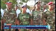 Les adieux du General ZakariaC'est fini pour lui et pour bien d'autres officiers superieurs des forces armees djiboutiennes qui vont tres prochainement commen