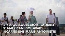 PHOTOS. Quand Katy Perry visite le château de Versailles, la pop star ne passe pas inaperçue