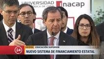 """Ministro Varela y nuevo sistema de financiamiento estatal: """"Confiamos en que vamos a tener un apoyo transversal en el Congreso"""""""