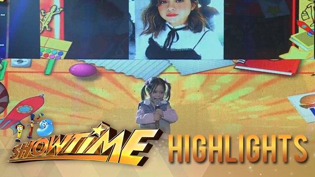 It's Showtime MiniMe 3: Princess Nathalie Maomay as mini Moira Dela Torre