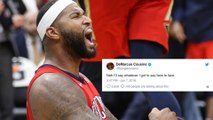 DeMarcus Cousins' SAVAGE Reply After ACCUSED of Having A Burner Account
