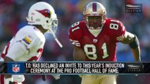 Terrell Owens Will Skip His Pro Football Hall of Fame Induction
