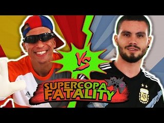 CRISTIANO RONALDO NA ARGENTINA?! - (SUPERCOPA FATALITY)