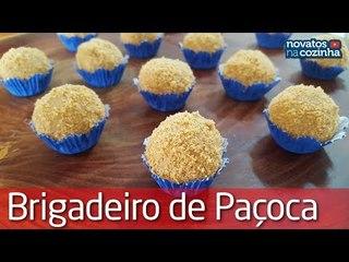 BRIGADEIRO DE PAÇOCA FÁCIL DE FAZER   ESPECIAL FESTA JUNINA