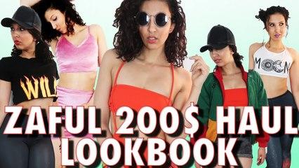 200$ CHEZ ZAFUL - HAUL & LOOKBOOK