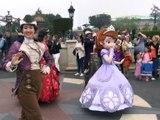DisneyLand 25 ans - La promenade des princesses Elena et Sofia - Princess Promenade Elena & Sofia