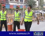 The true image of a welfare state, KPK Traffic Warden Police serving the community in extreme heat during Ramadan #KPKUpdates #Peshawar #KPPolice