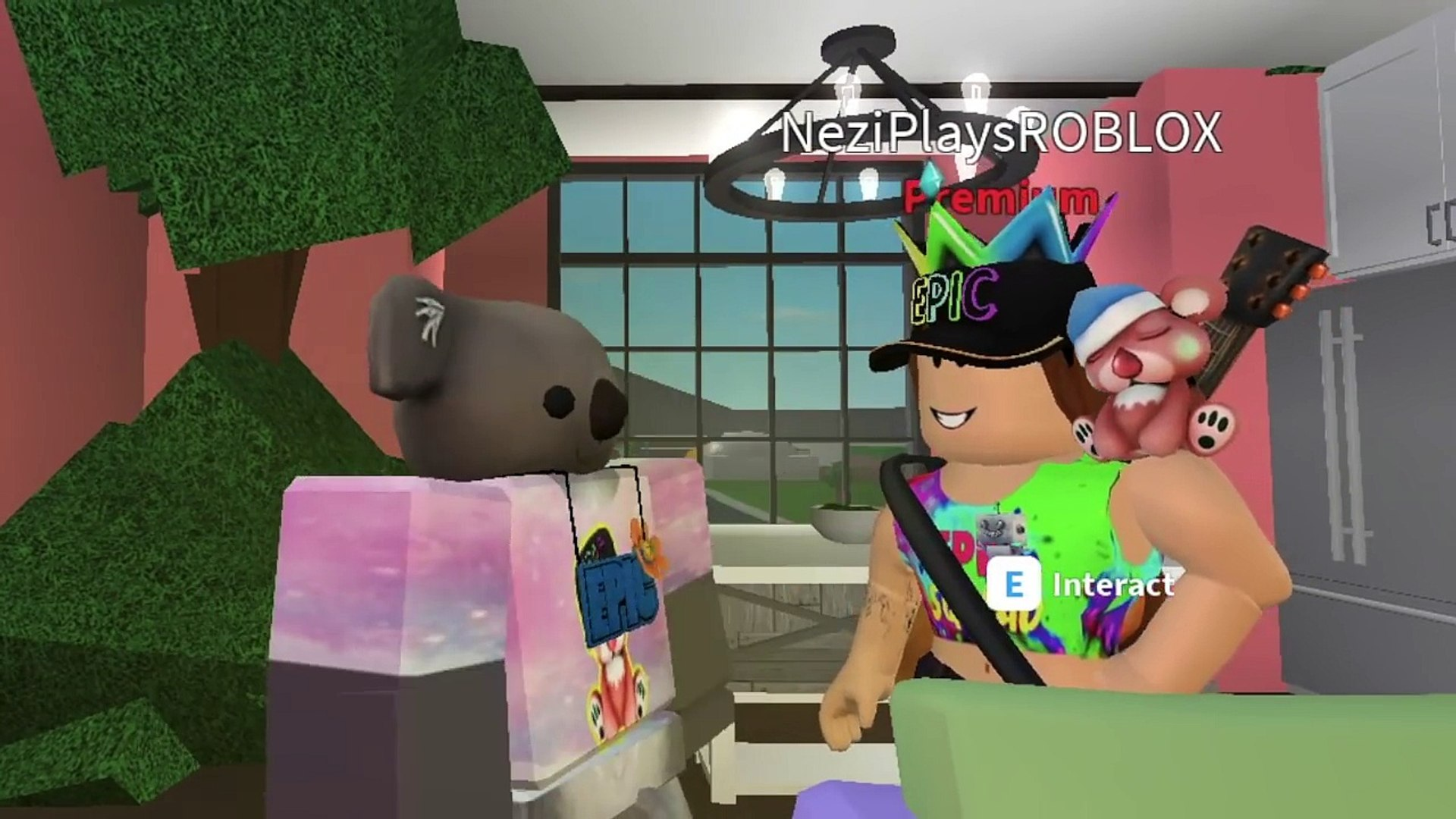 Roblox Bloxburg Epic Tree House New Mascot O Dailymotion