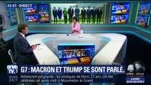 G7: Emmanuel Macron et Donald Trump se sont parlé