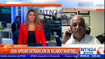 """""""Asumimos que a partir del lunes el expresidente Martinelli puede ser trasladado a Panamá"""""""