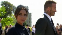 David and Victoria Beckham selling royal wedding outfits