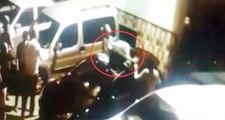 5. kattan Atlayan Genç Kız Park Halindeki Aracın Üstüne Düştü! Mucize Kurtuluş Kamerada
