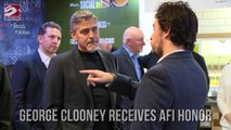 George Clooney Receives AFI Honor Award