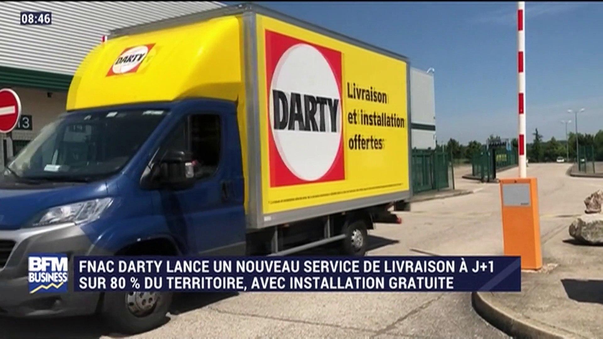 Fnac Darty lance un service de livraison à J+9 - 9/9