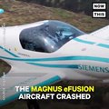 An experimental electric plane was involved in a fatal crash in Europe (via NowThis Future)