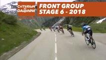 Front group - Étape 6 / Stage 6 (Frontenex / La Rosière ) - Critérium du Dauphiné 2018