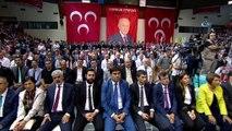 MHP Genel Başkanı Bahçeli: 'İnce'nin sözde Kürt sorununda hiçbir kırmızı çizgisi yokmuş. Önce vatan değil, önce adaletmiş. Kırmızı çizgisi olmayan bir gafilin Cumhurbaşkanı adayı olması bile zuldur'